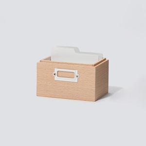 【イデア】積み重ねても使えるおしゃれでほっこりするカードボックス