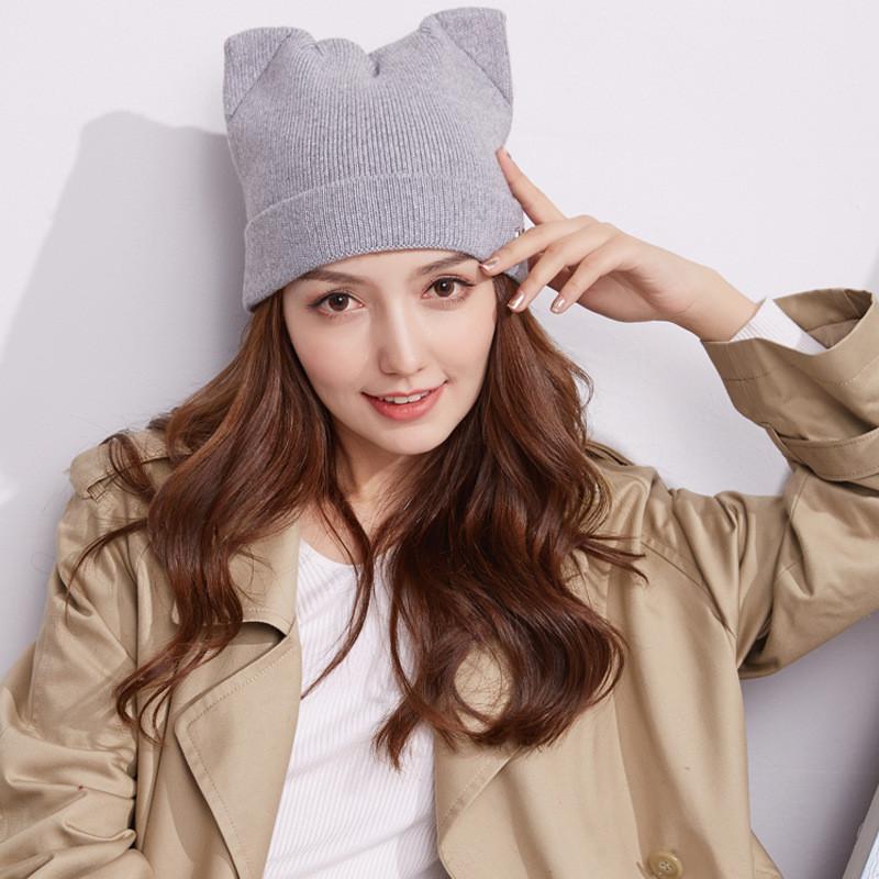 ネコニット帽(^^)