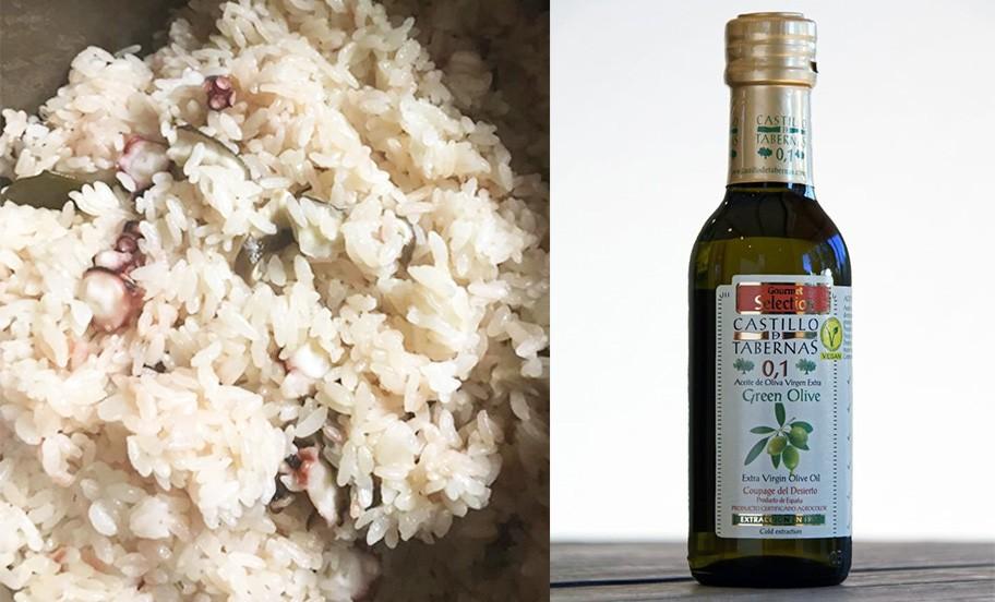 カスティージョ・デ・タベルナス0.1のおすすめレシピ~タコ飯の作り方~