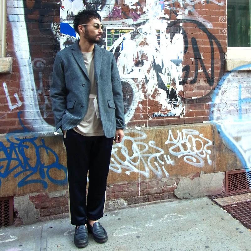 新しいテーラリングスタイルを提案 | Needle Mixing Jacket
