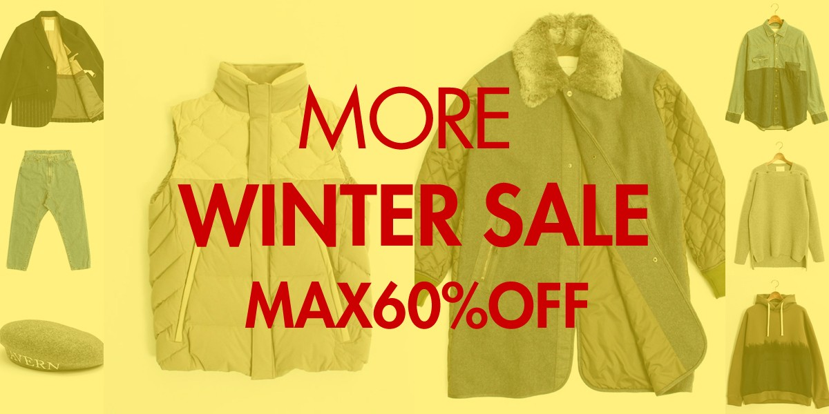 MORE WINTER SALE START!!!