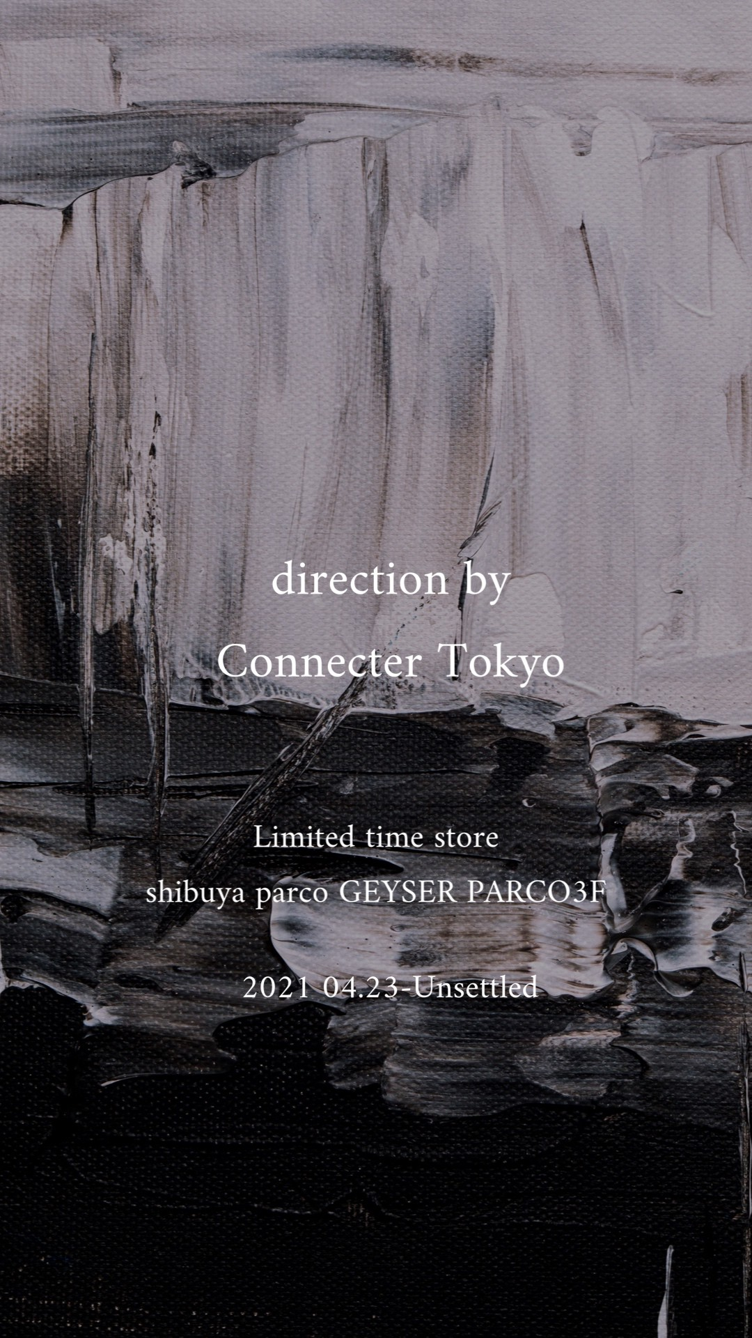 4.23 start direction by Connecter Tokyo#2