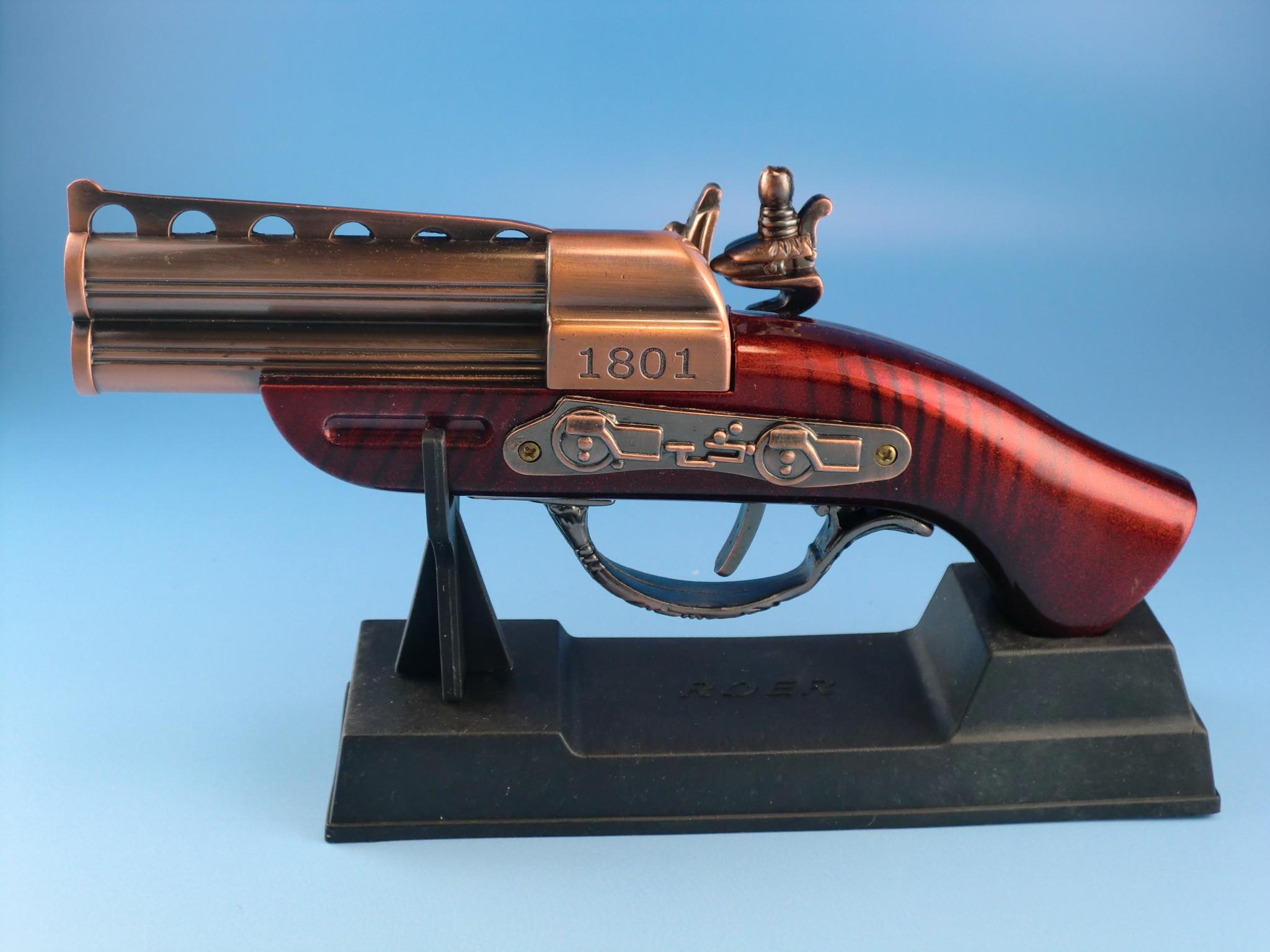 レトロな銃型ライター