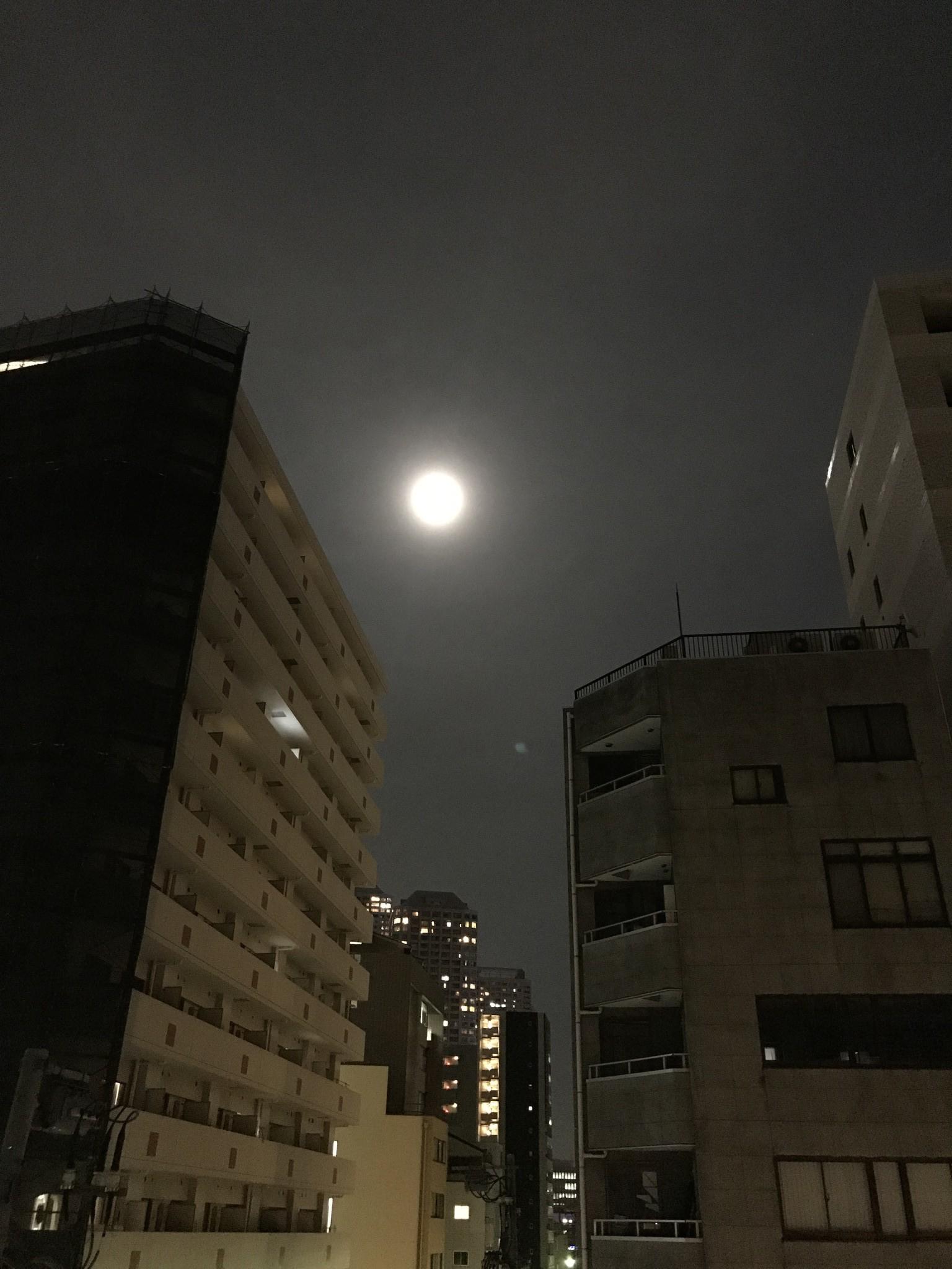 皆既月食の夜に…