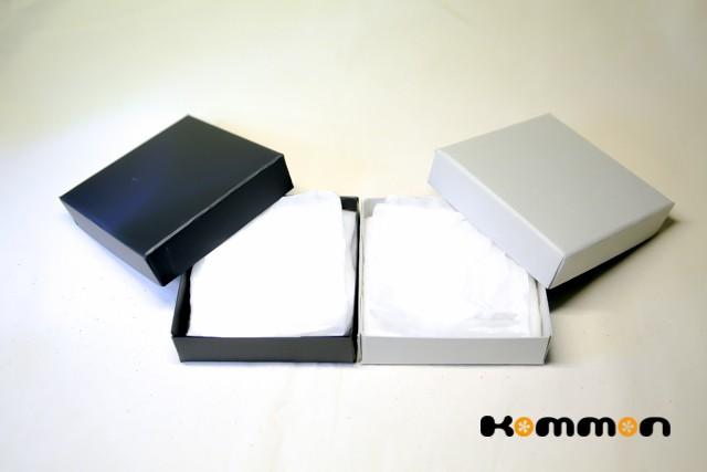 Kommonうでわ専用のギフトボックスを作りました