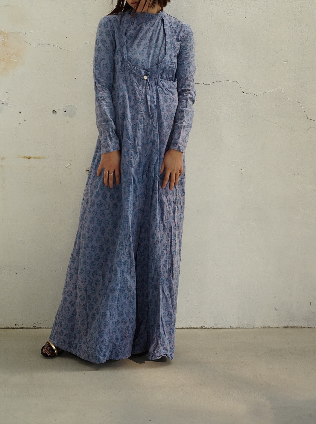 1970s Indian Wrap Dress