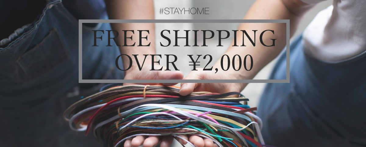 FREE SHIPPING OVER ¥2,000