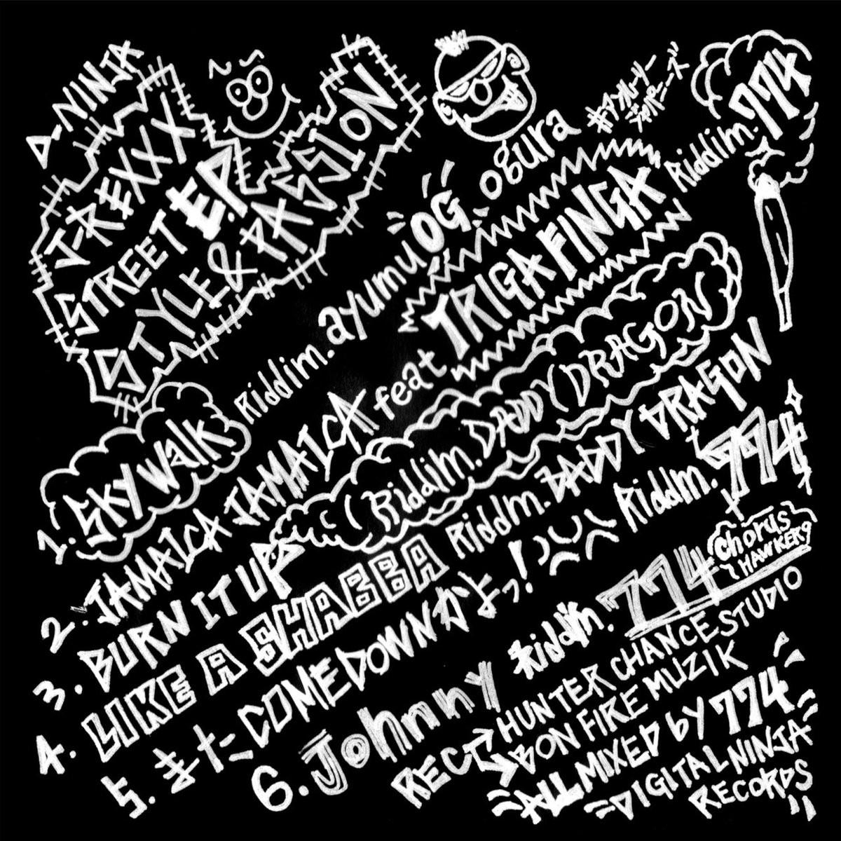 """【予約受付中‼︎1月末頃再入荷‼︎】J-REXXX 限定EP""""STYLE&PASSION"""""""