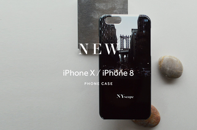 【NEW】iPhoneケースにiPhone X, 8 が登場!