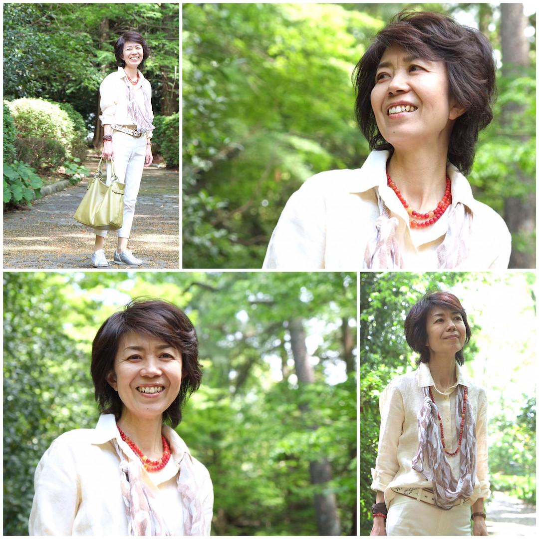【私のSONMISA】『どんな年代でも普段着でも』〜石田律子さん〜