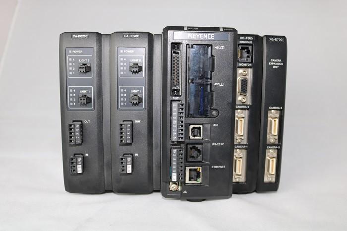 キーエンス マルチカメラ画像処理システム XG-7500他 お買い得中古品