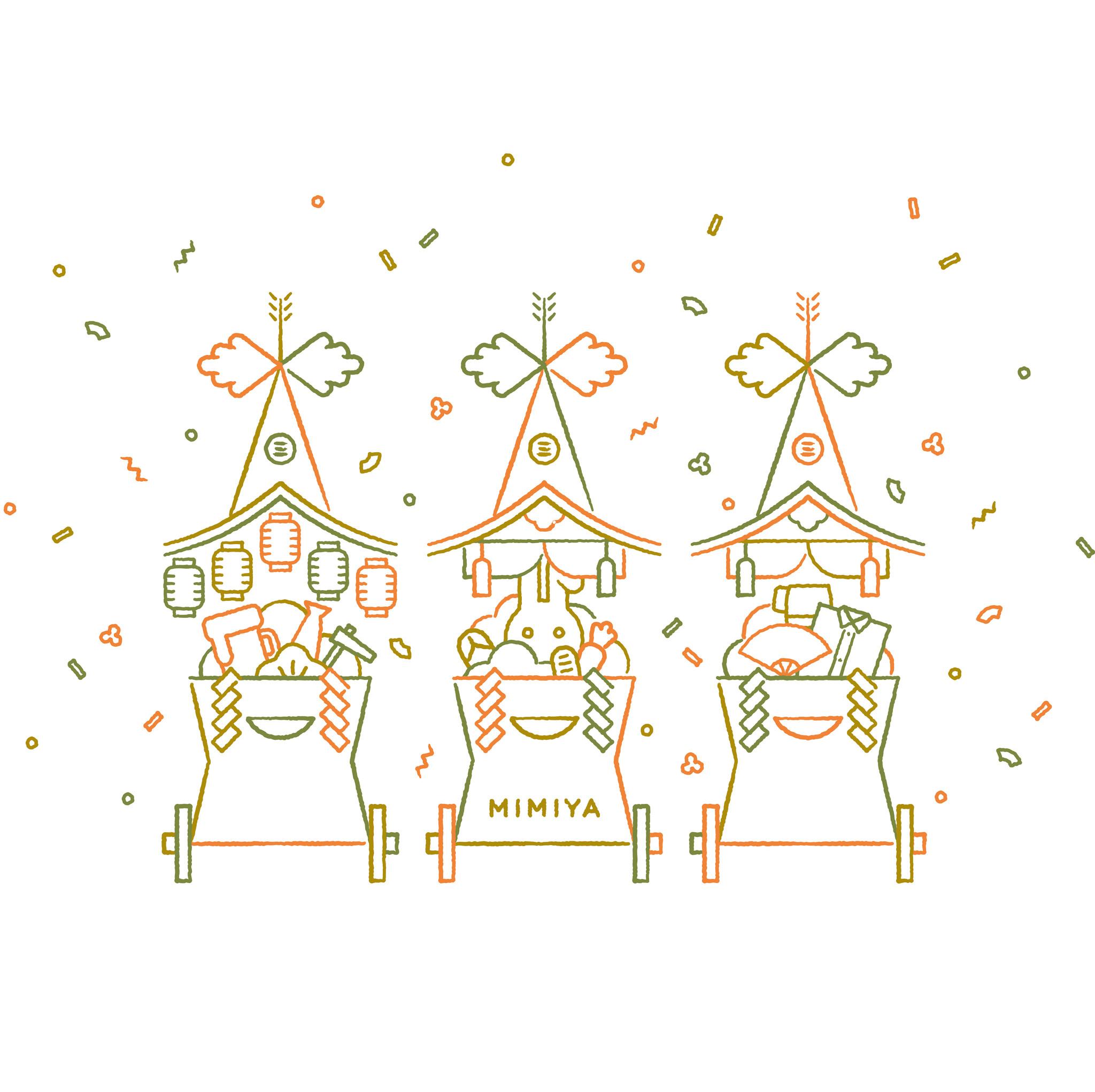 三三屋2周年のお知らせ