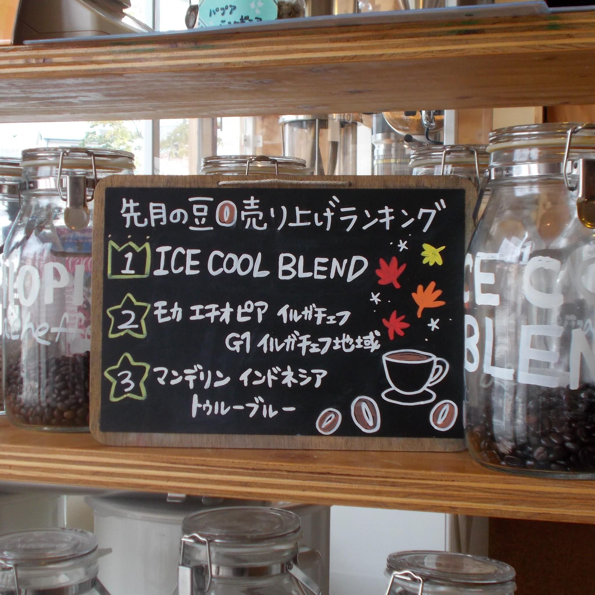 【先月のスペシャルティコーヒーの人気ランキング】