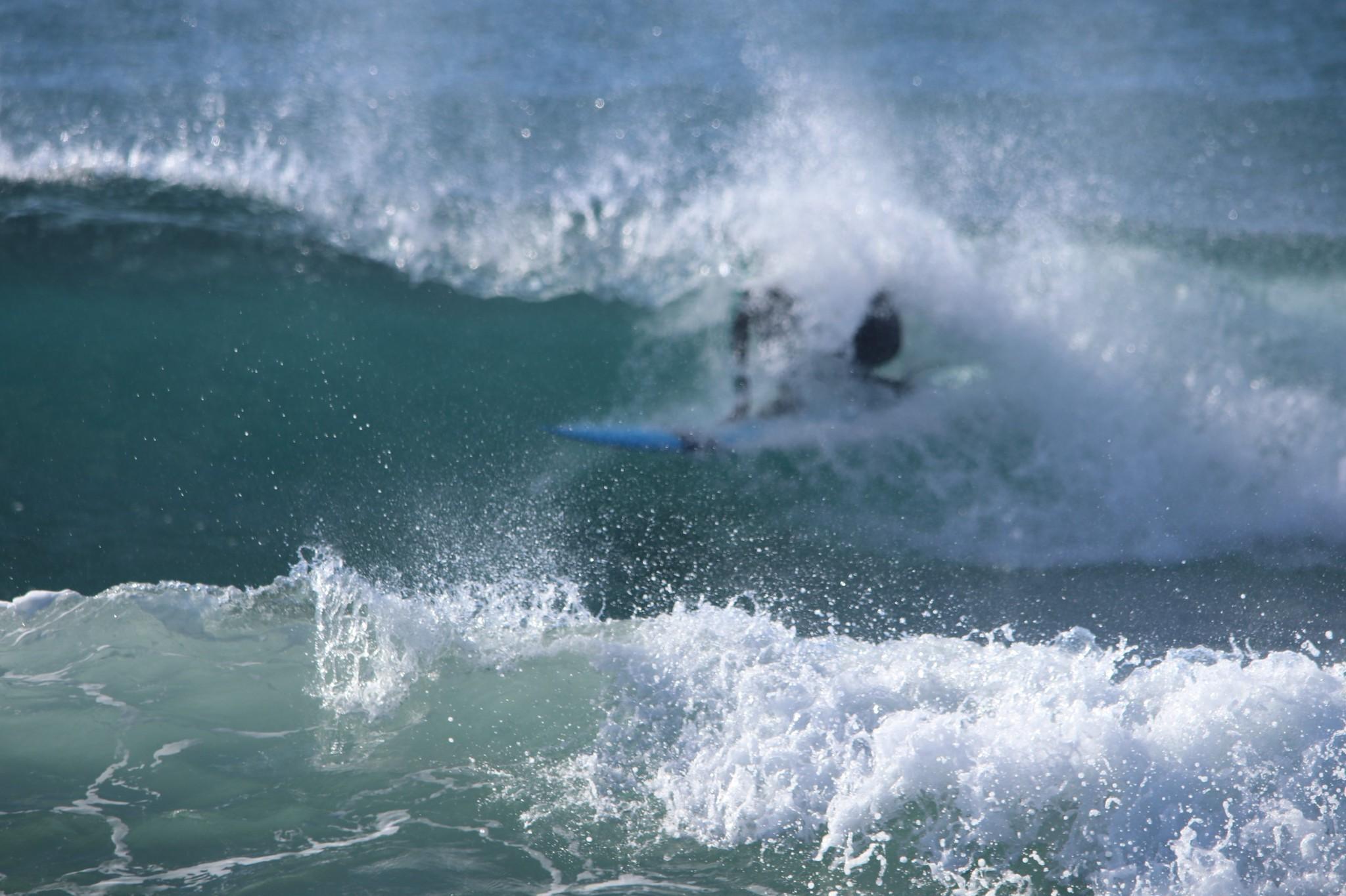 本日良い波です