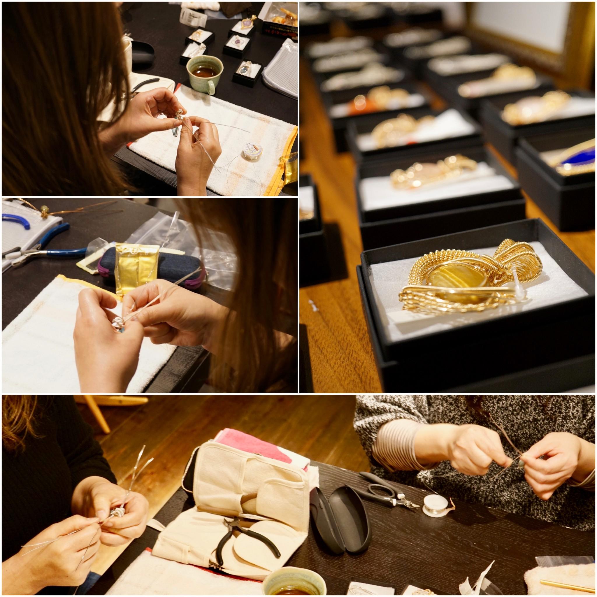 12/15、16ワイヤーペンダントトップ作りWS & 販売会@大阪 ありがとうございました