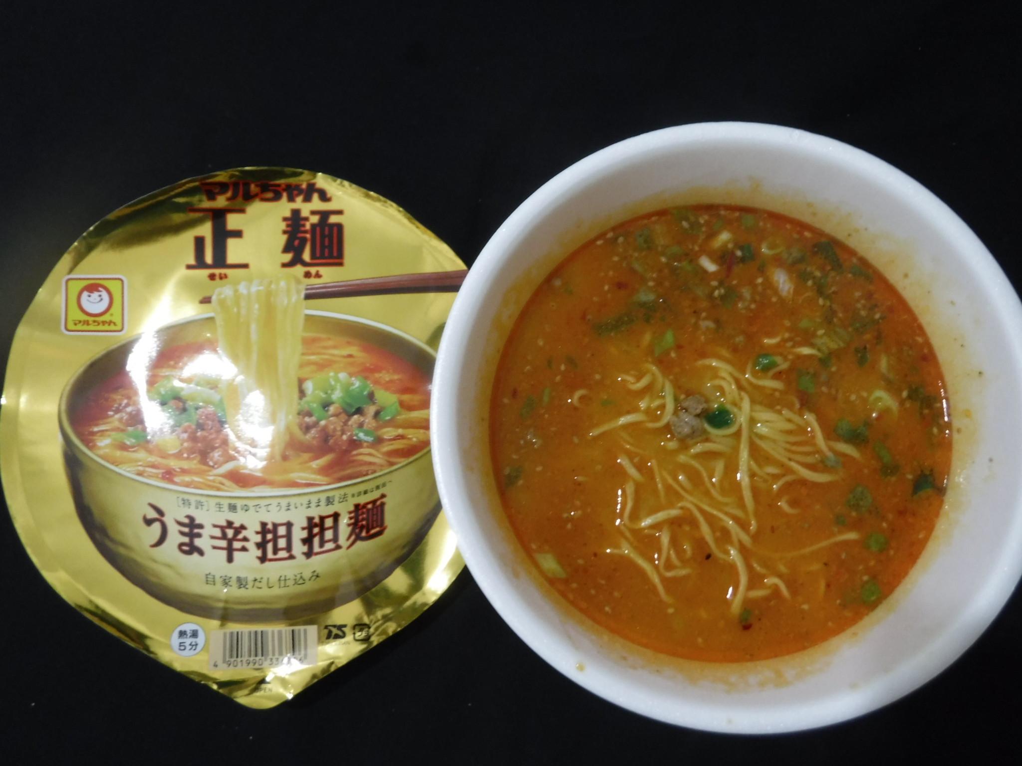 マルちゃん正麺 うま辛担担麺