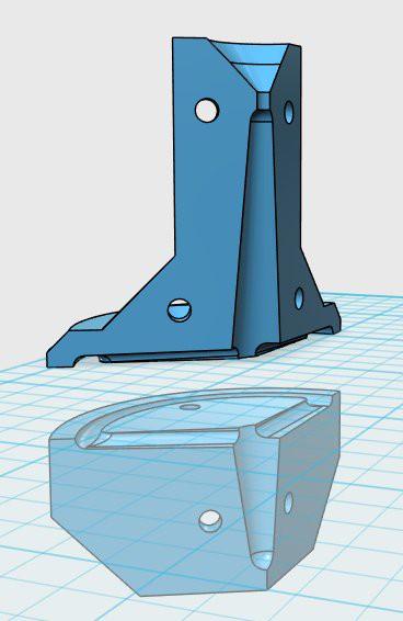 PLAモールドを造形して低融点合金を鋳造してみました。