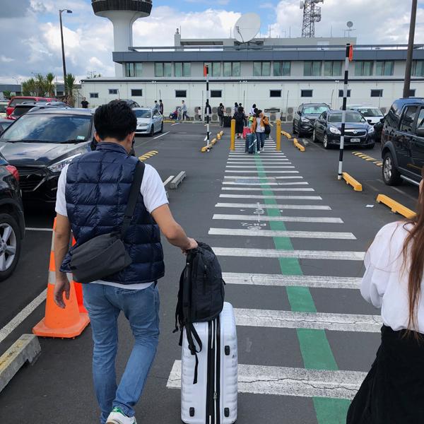 (NZ情報)オークランド空港で国内線へ乗り換えについて