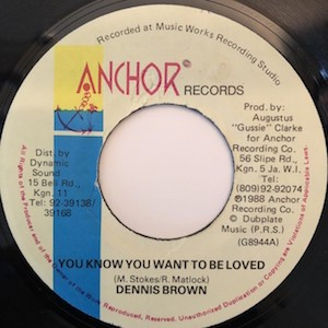 Dennis Brown - You Know You Wanna Be Loved(和訳/歌詞付)