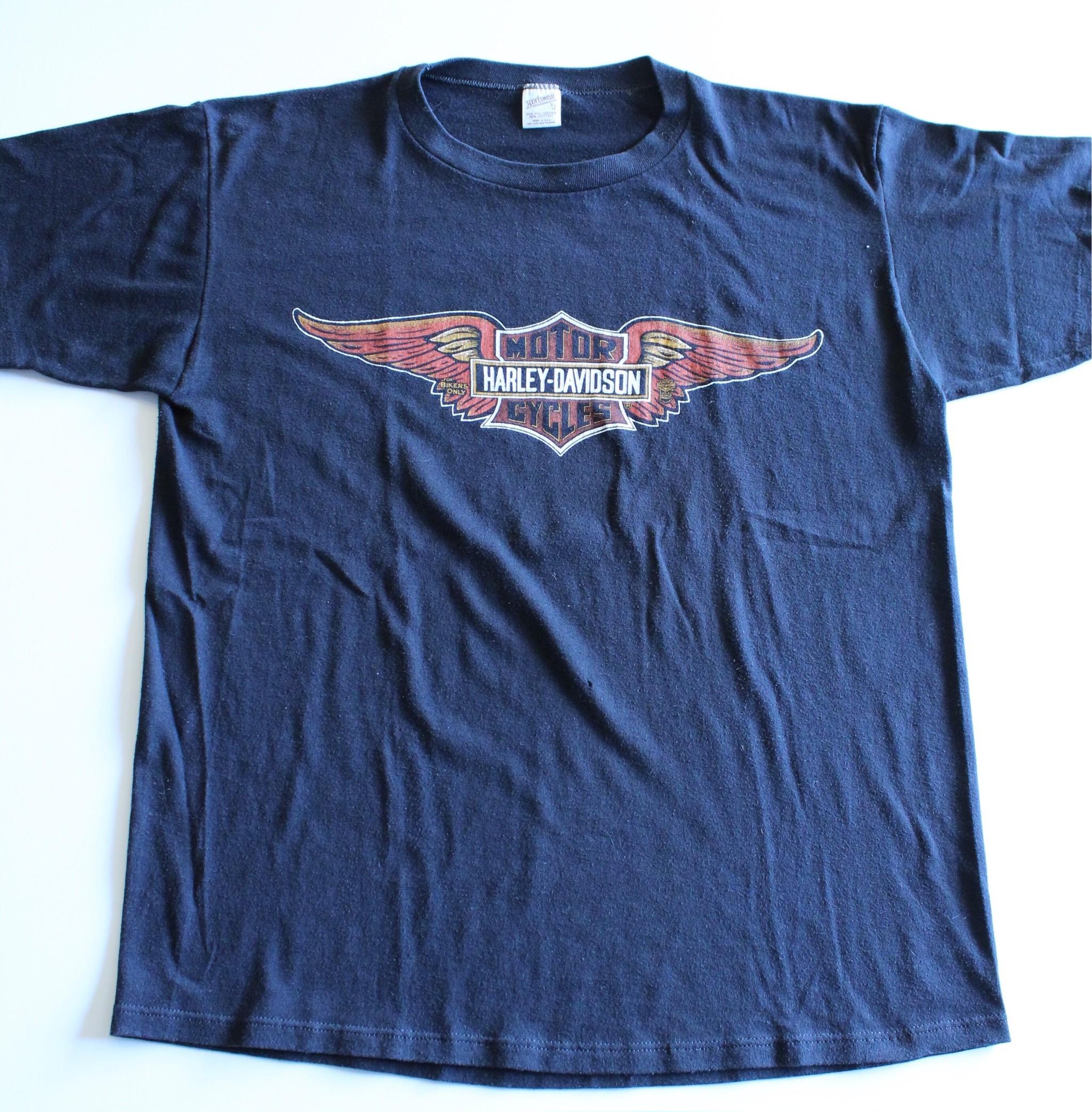 Vintage Harley Davidson T-shirts