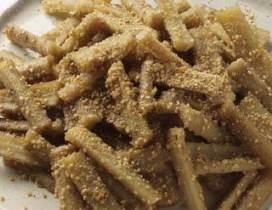 おせち料理レシピ④ たたきごぼう