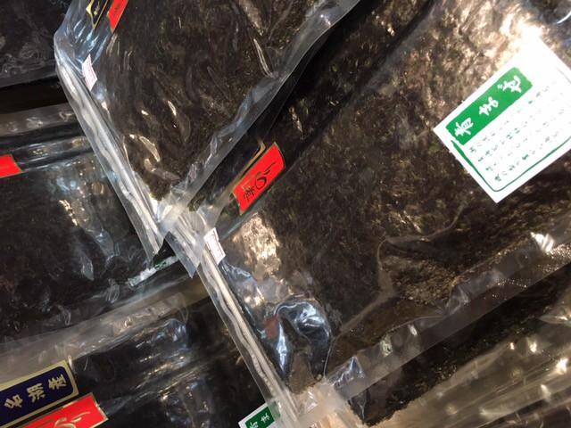 【実店舗情報】浜名湖産 青混ぜ海苔入荷しています!