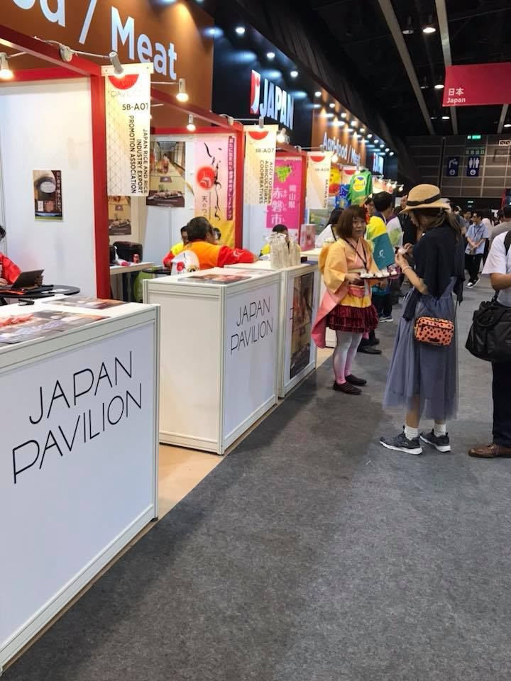 J-ORGARICEは、香港で『FOOD EXPO』に出展しました