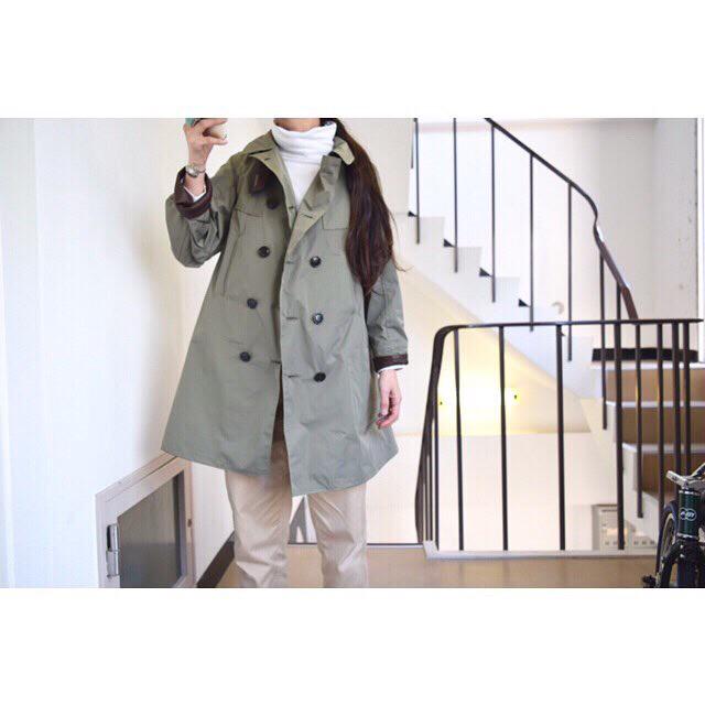simva Italian Nylon P-coat 元町本店限定発売‼