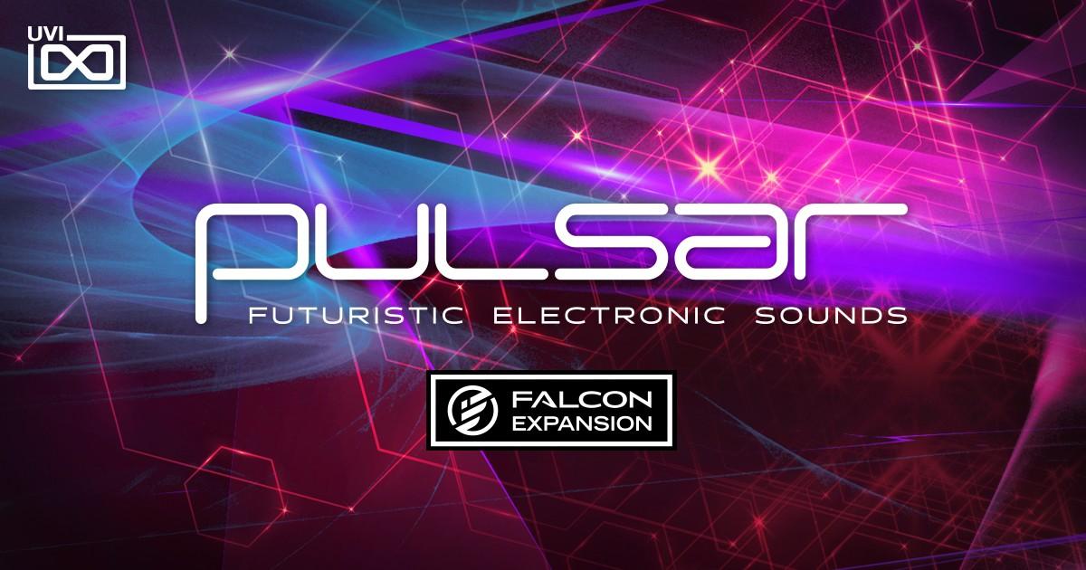Pulsar for Falcon フューチャリスティックエレクトロニックサウンド