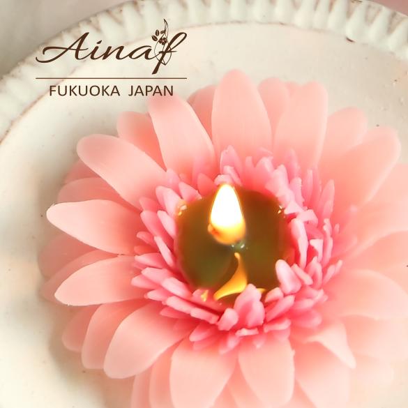 【特集掲載】心も華やぐようなピンクのガーベラ minneで掲載して頂きました!