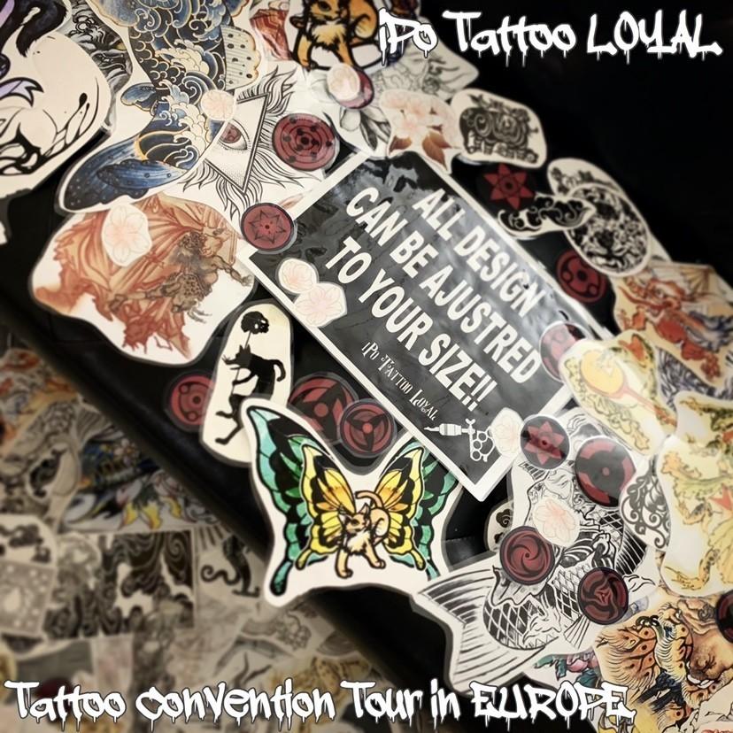 Tattooing Work Flow : 刺青デザイン・ご予約・施術までの流れ