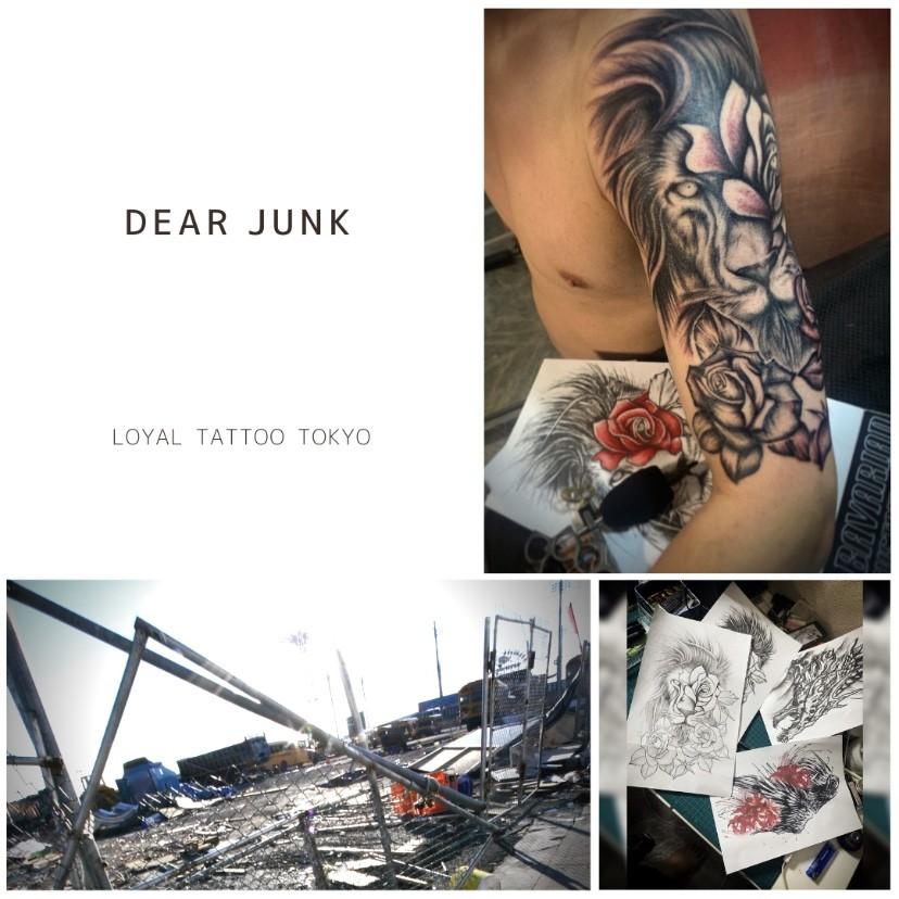 Dear Junk / タトゥーが欲しいガラクタ達へ | 東京渋谷タトゥースタジオ 刺青師 渋谷伊彫