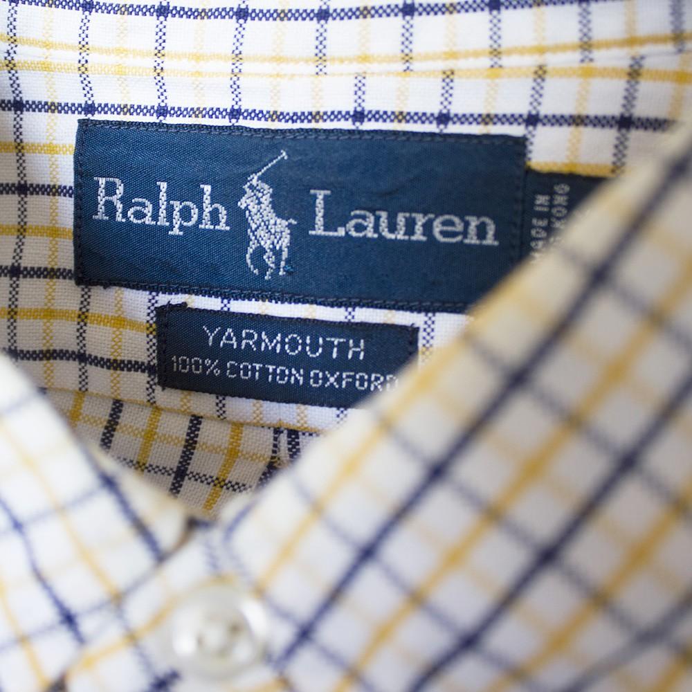 ラルフローレンのボタンダウンシャツ