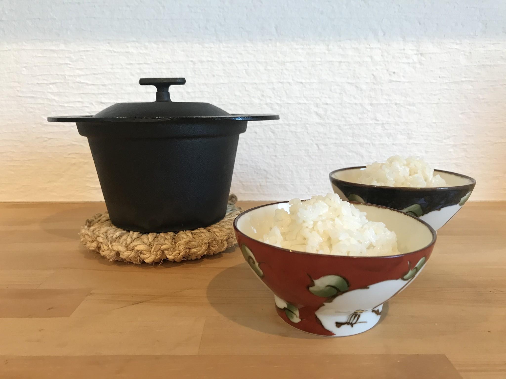 鉄鍋LABO レシピvol.1 お米を炊く