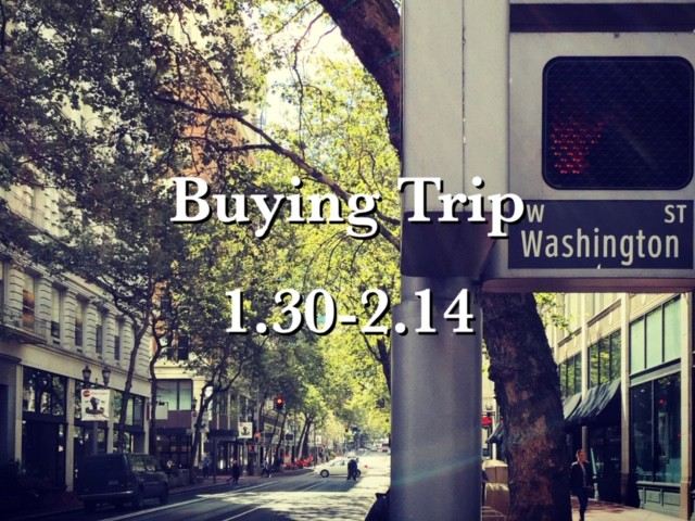 Buying Trip February 2020