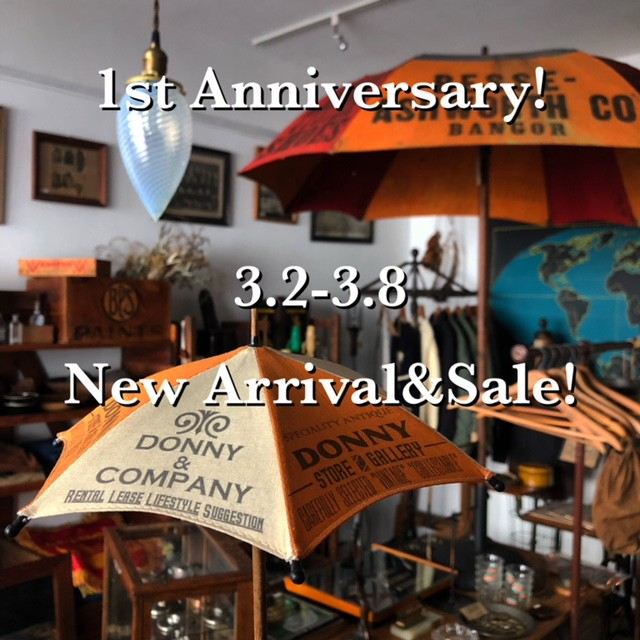 1st Anniversary Sale&New Arrival