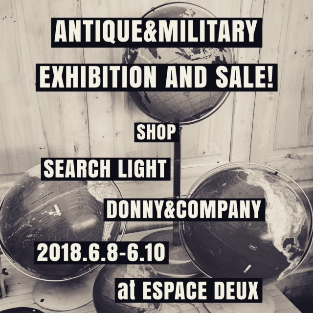 ANTIQUE&MILITALY EXHIBITION AND SALE!