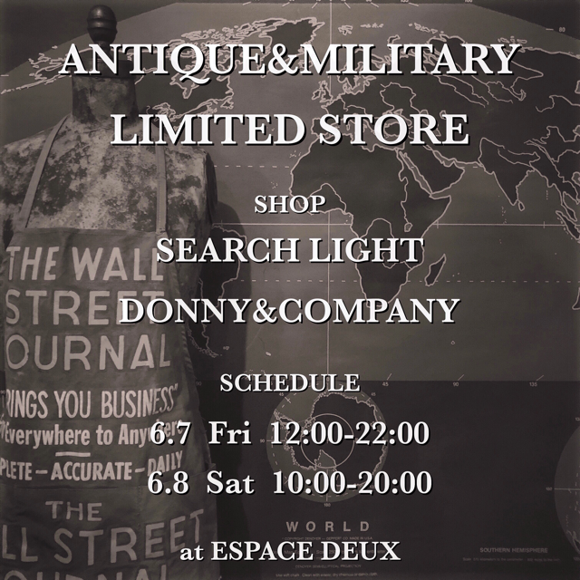 ANTIQUE&MILITALY LIMITED STORE 2019.6