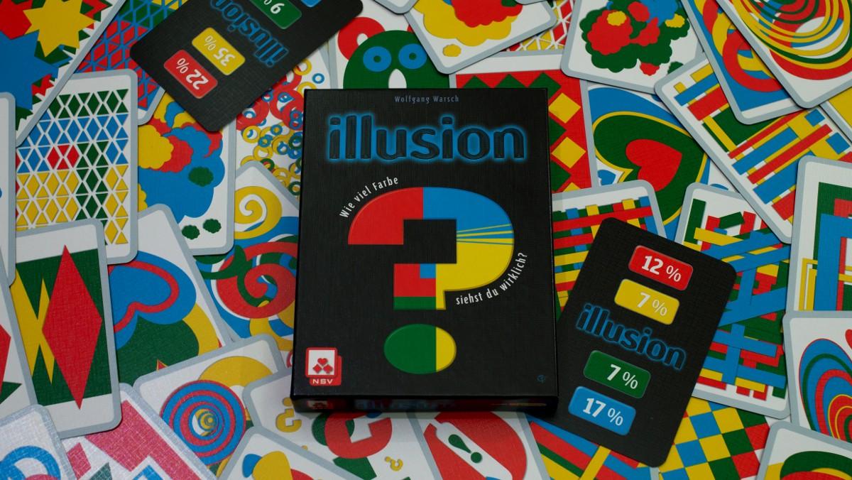 【あなたは自分の視覚を信じられる?】新感覚カラーカードゲーム「イリュージョン」