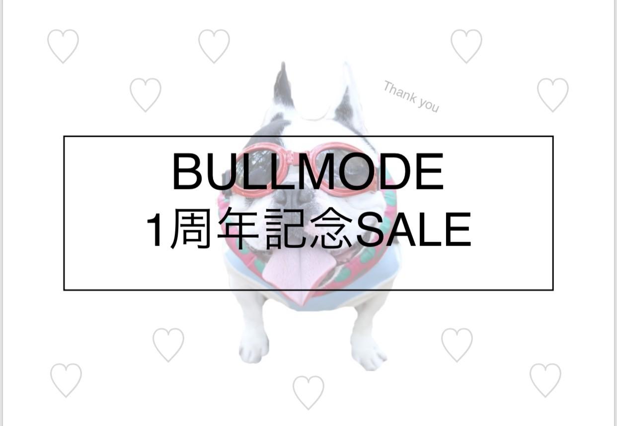 【お知らせ】BULLMODE1周年!