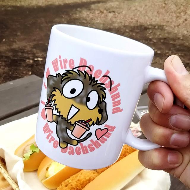 新作マグカップの商品撮影