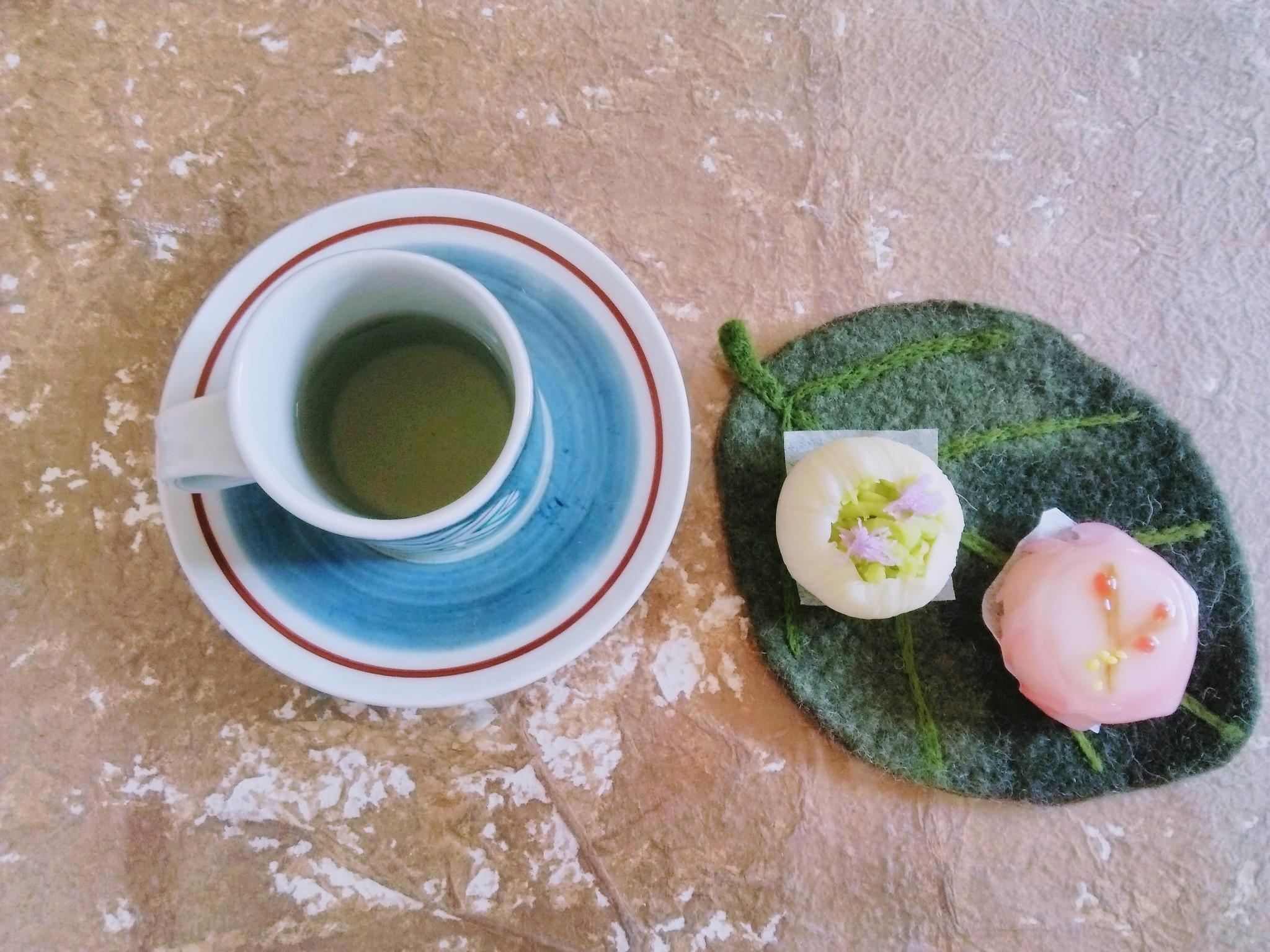 野草茶と和の気分