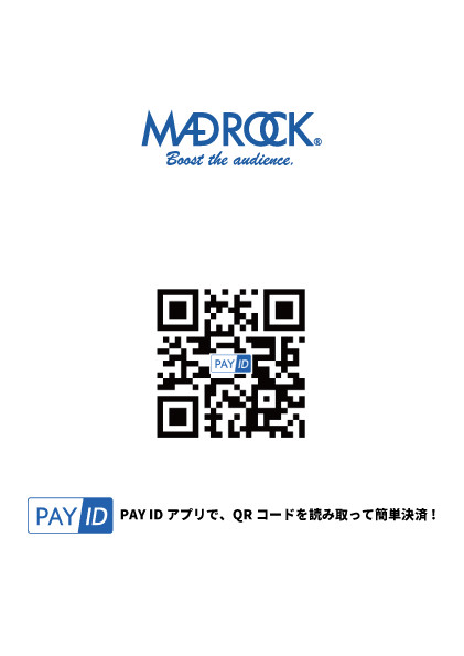 【お知らせ】出店中にクレジットカード決済が出来るようになりました!