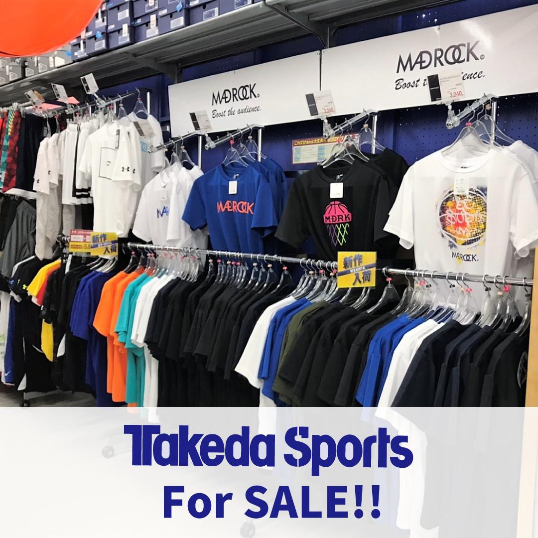 TakedaSportsにて絶賛取り扱い中!!