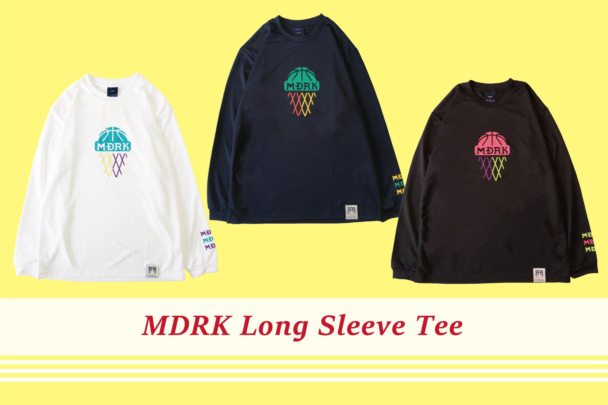 【新作情報!!】MDRK L/S Teeがまもなくリリースです!!