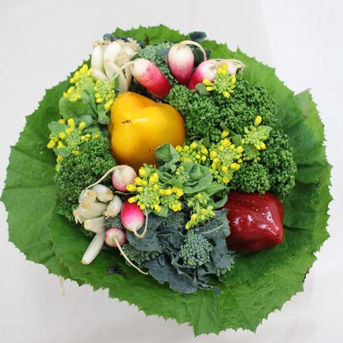 新鮮な野菜のブーケ『食いしん坊のブーケ』をお母さんへ贈りませんか?