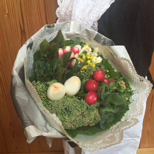 今年の母の日には花より団子のお母さんに『食いしん坊のブーケ』を!