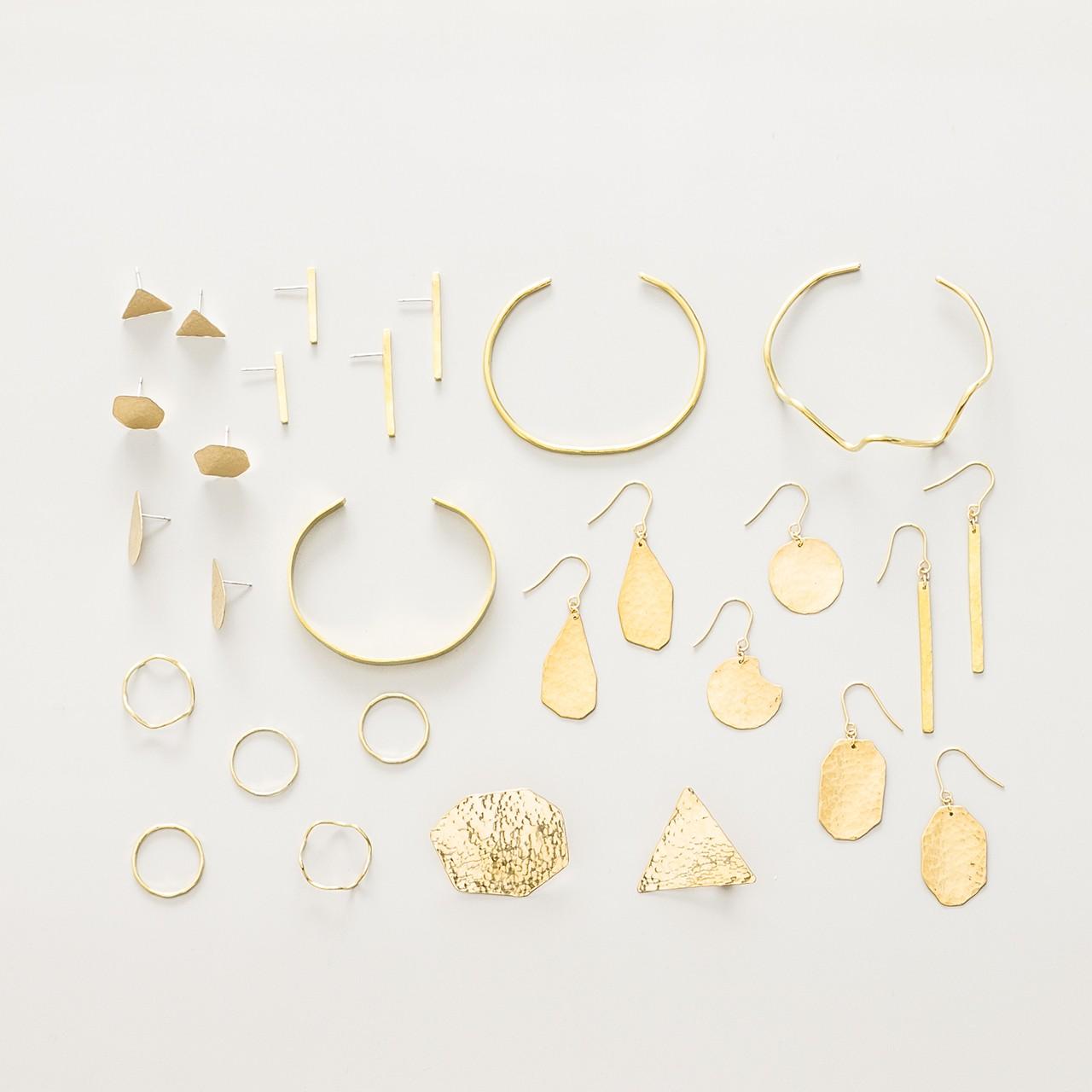 brass jewlry series