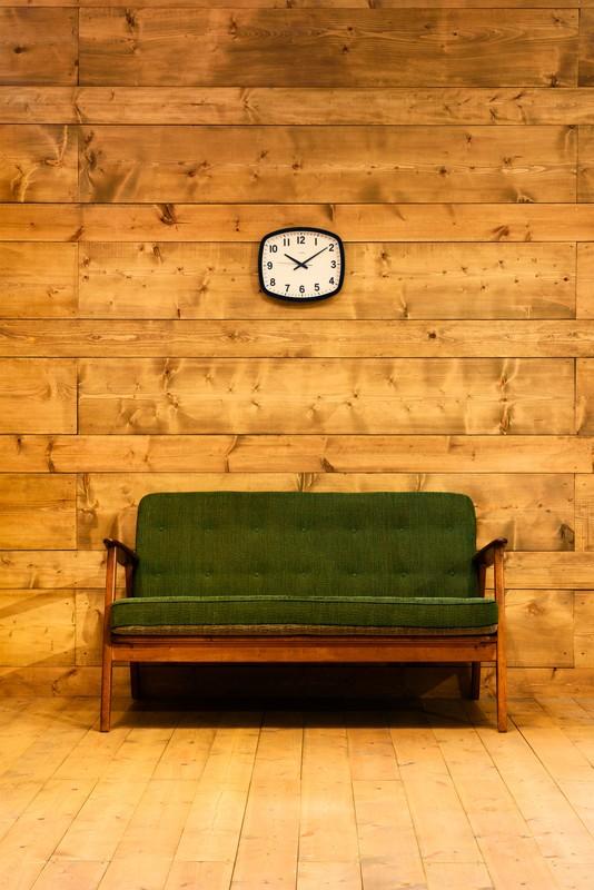 北欧から西海岸スタイルと幅広いシーンで使用出来る  高級感のある掛け時計