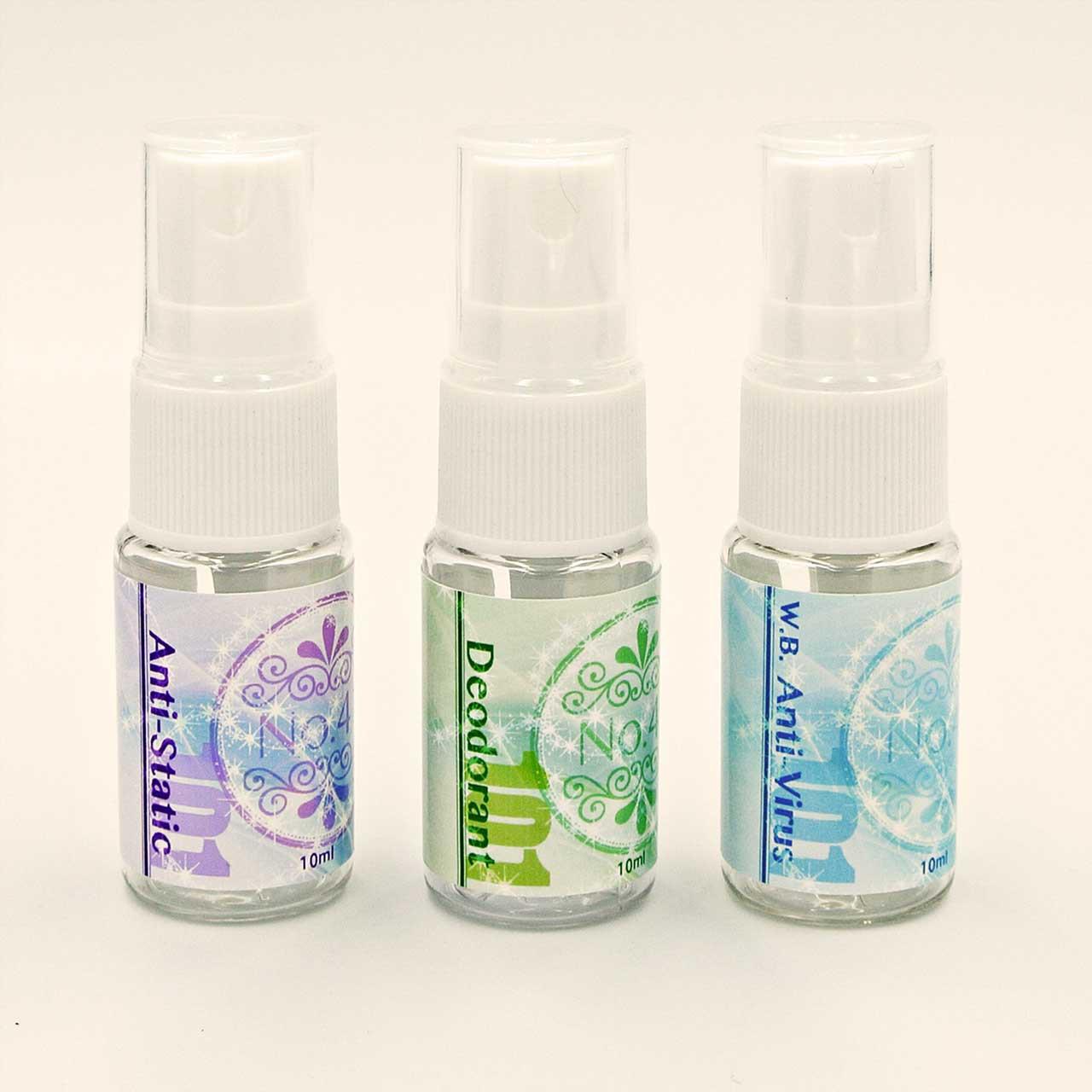 [新製品]機能性アロマ3シリーズ(風邪・インフル・花粉症対策、静電気防止、防臭)